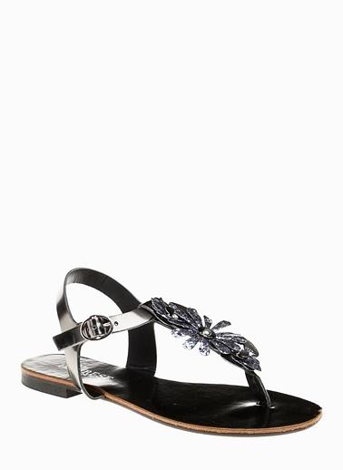 Divarese Divarese 5021412 Platin Kadın Sandalet Gümüş